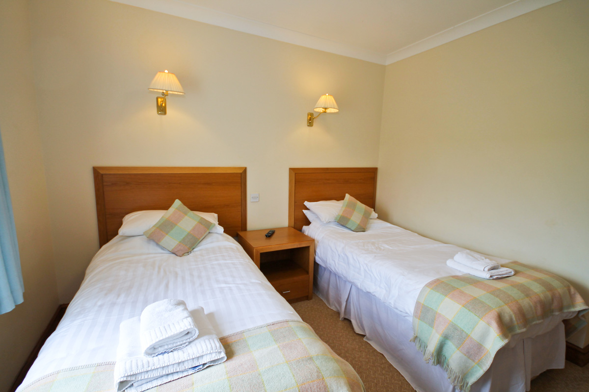 Read about our Twin Bedrooms