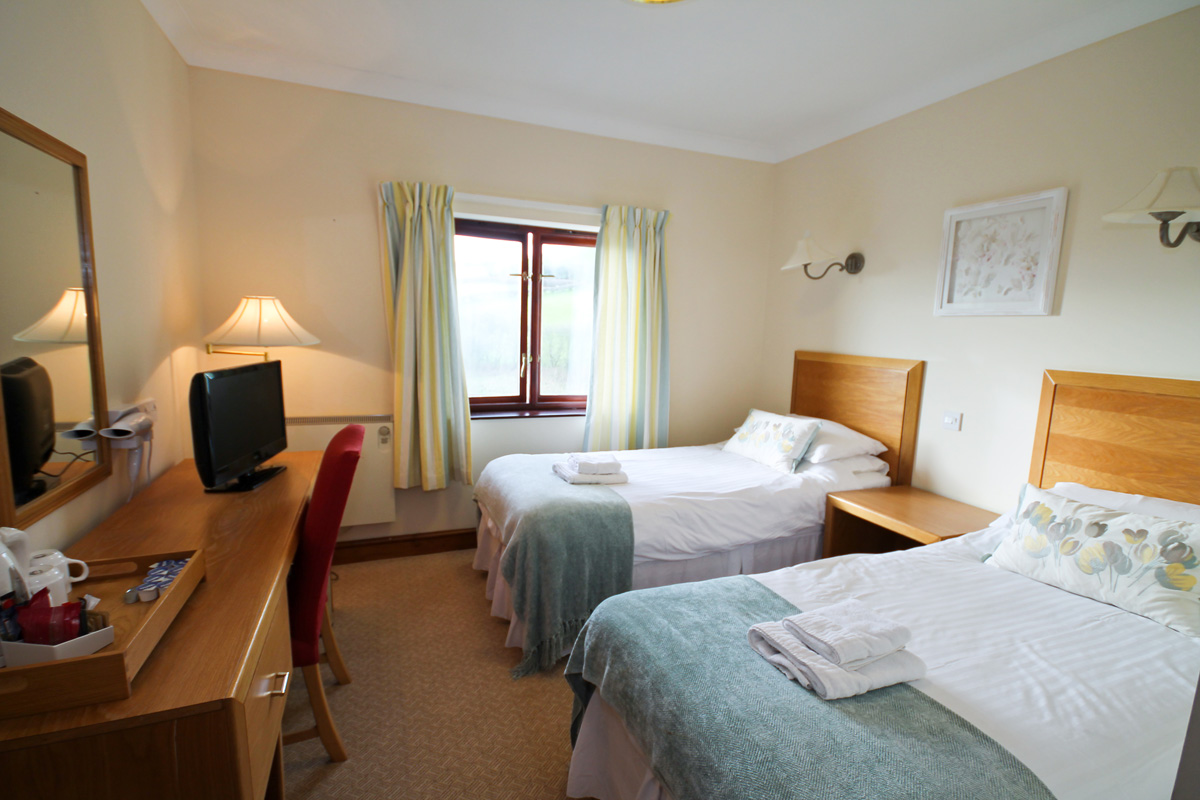 Read more about our Twin Deluxe rooms